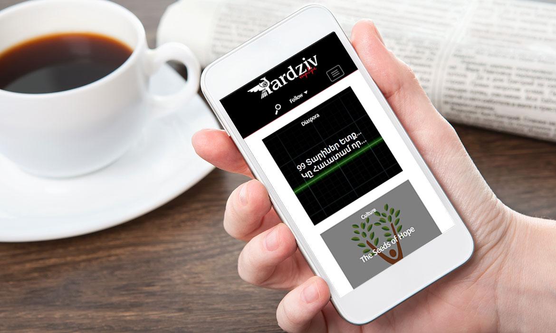 magazine website development