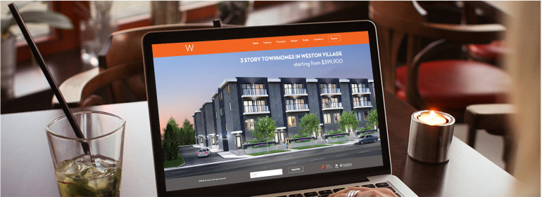 responsive real estate website design