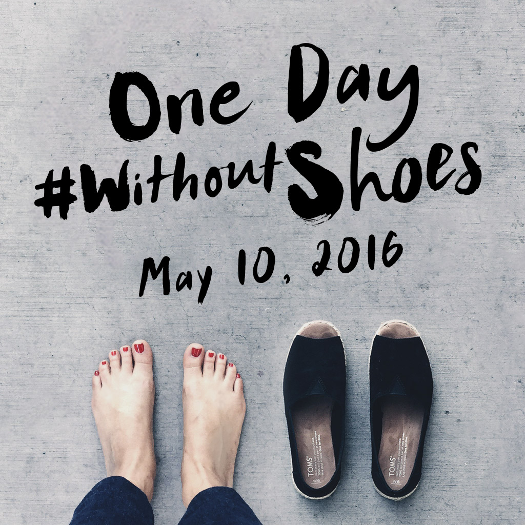 Without Shoes campaign