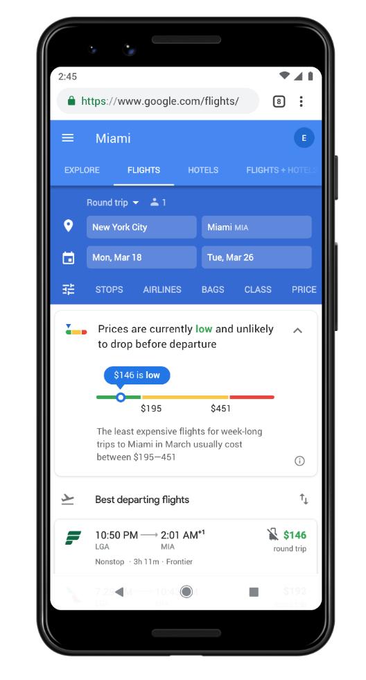 Google makes traveling easier