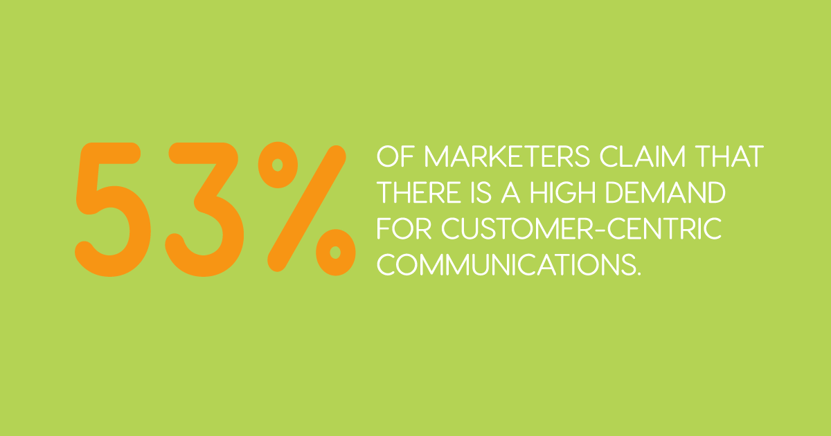 Customer centric communication