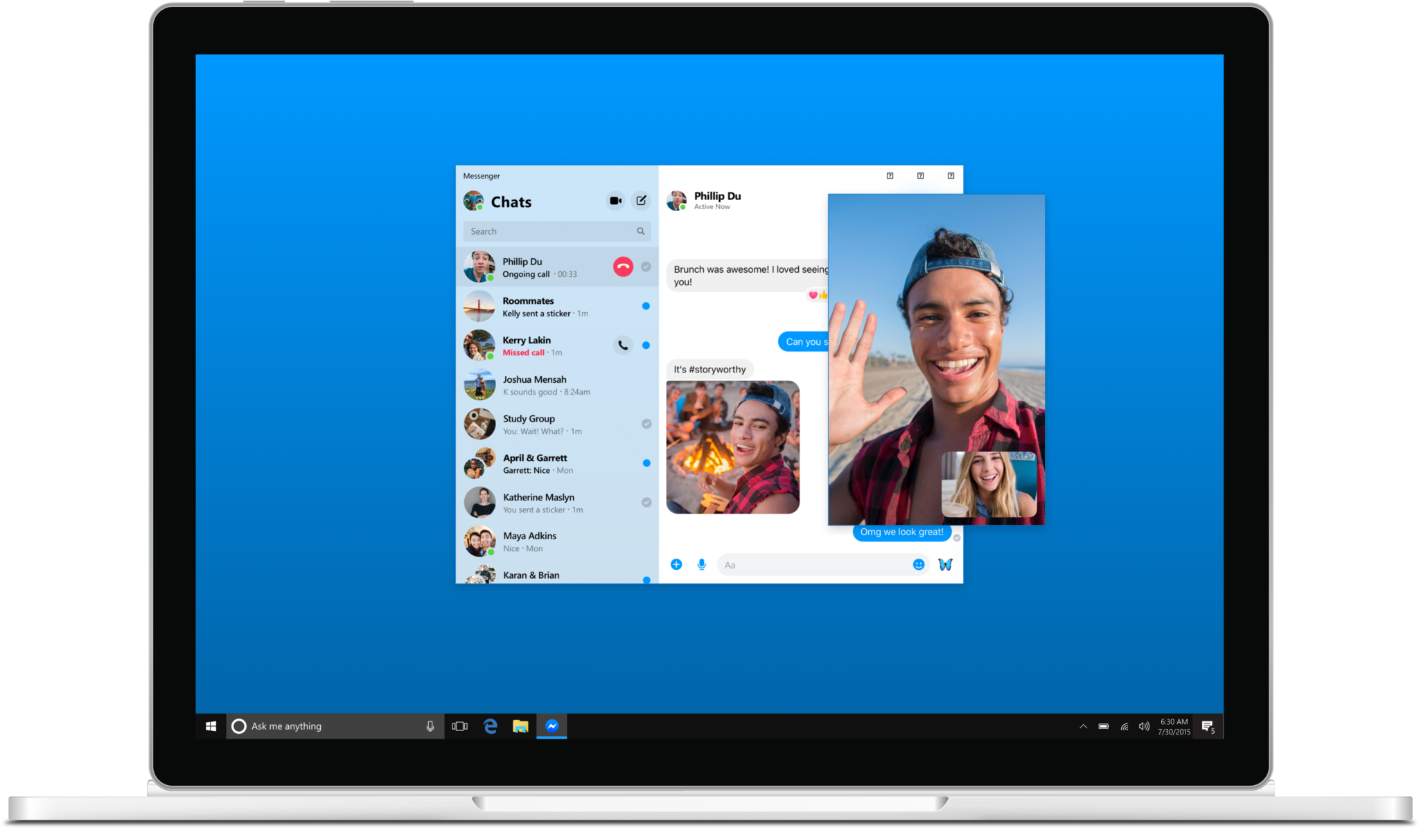 Messenger_Desktop_App_call