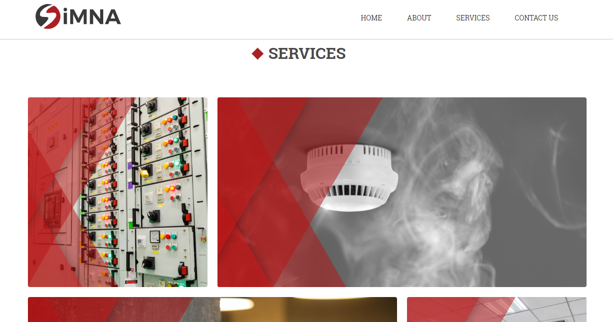 Simna website example