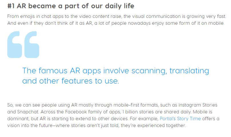 AR VR blog