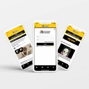 6ix Buzz Mobile Application Portfolio
