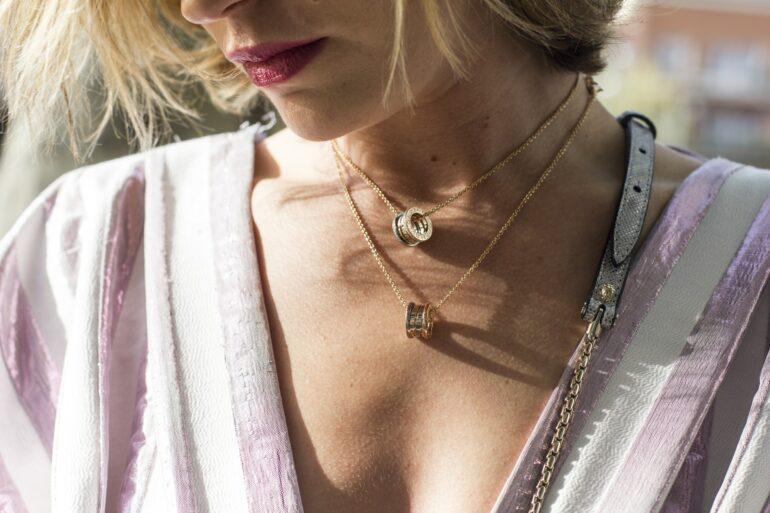 Model wearing jewellery Digilite Blog