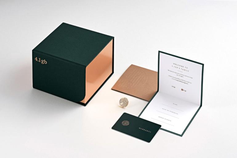 Jewellery Branding Packaging Mockup