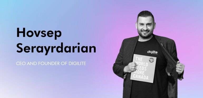 Hovsep Digilite CEO