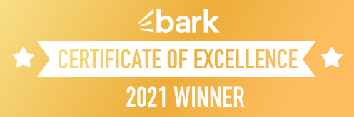 Certificate of Excellence badge for Digilite #BarkCoE2021